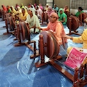 Prime Minister distributes 500 charkhas to women spinners in Ludhiana