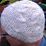 Britspin yarn becomes a hat