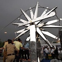 Another giant charkha