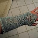 Armstulpe / wrist warmer *Anna*  by Birgit Freyer