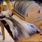 Electric Brother drum carder review - video
