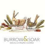 Logo for Burrow and Soar