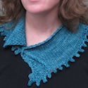 Candy Wrapper Scarflet by Mary Keenan