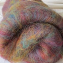 Hand-dyed batts