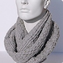 Cowl Tweed Men by Jolanda Schneider