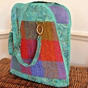 Donegal tweed bag