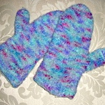 Favorite felted mittens pattern