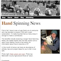 Hand Spinning News February 2015