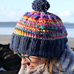 Gummy Worms Hat by Colours of Northern Ireland