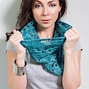 Crochet Harbor Cowl by Chandi Agee