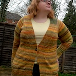 Finished: Combospin, Harvest cardigan
