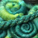 How to finish handspun yarn: steaming