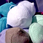 Lifechanging knitted knockers for breast cancer survivors