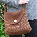 Felted Knitted Bag Pattern