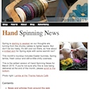 Hand Spinning News March 2015
