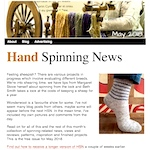 Hand Spinning News May 2018