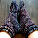 Mukluk Slippers by Diane Soucy