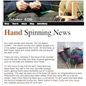 Hand Spinning News October 2016