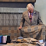 Prince Charles launches a limited-edition luxury wool scarf