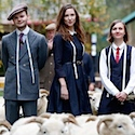 Shoppers flock to see sheep on Savile Row