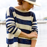 Seaboard Sweater by Tanis Lavallee
