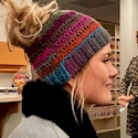 Stacey's Bun Hat, crochet pattern by Stacey Thorngren