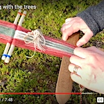 Weaving with the trees