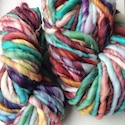 Thick core spun yarn