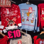 Quarter of Christmas jumpers were worn once and discarded last year