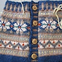Tips for choosing colors for a fair isle pattern