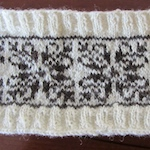 Fairisle handspun natural colours