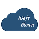Logo for Weft Blown