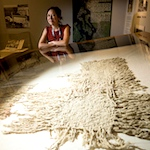 Exhibit weaves together Tulalip tribes traditions with wool