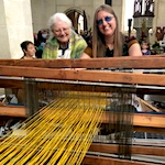Thousands flock to festival in village famous for its weaving and spinning heritage